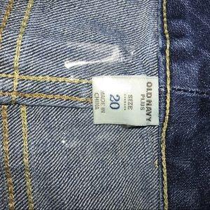 Old Navy Shorts - Old Navy Plus Size Jean Shorts Sz 20